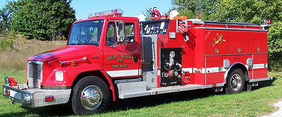 Apparatus Shelby Benona Fire Department